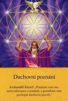 """Duchovní poznání - Archanděl Raziel: """"Přináším vám esoterní informace a symboly a pomáhám vám pochopit duchovní pravdy."""""""