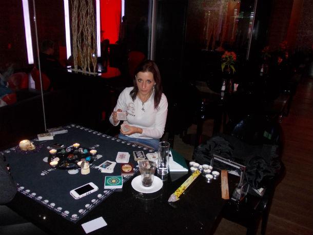 Nabídka - věštba z karet na akcích